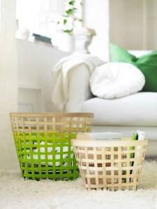 IKEA-Nipprig-range-coloured-woven-storage-baskets