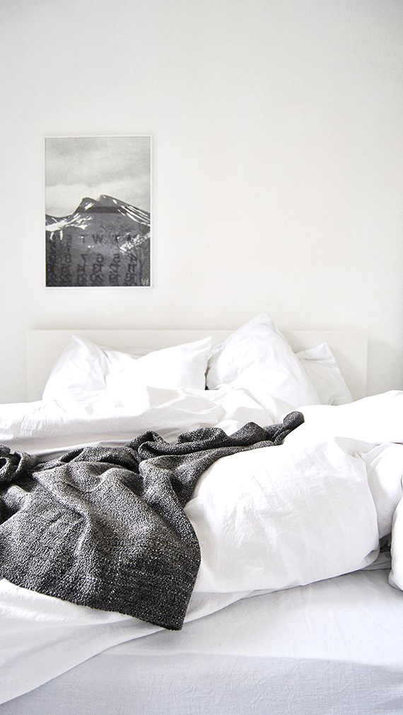 LOVE OR NOT: All white bedrooms | Image via Ollie and Seb's House.