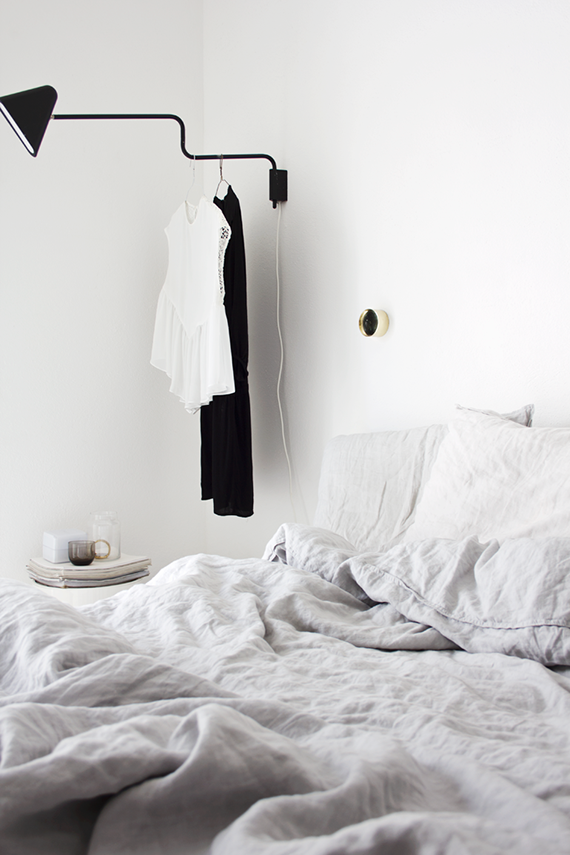 LOVE OR NOT: All white bedrooms | Image via Ale Besso
