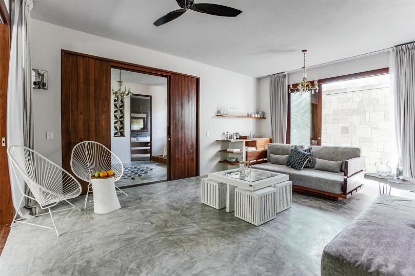Villa - Master suite Living room