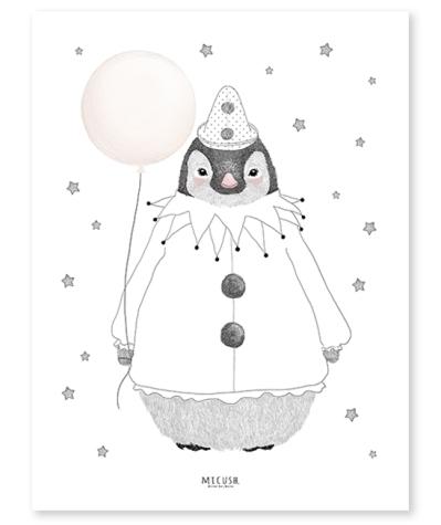 affiche-pingouin-enfant-romantique-lilipinso-p0211