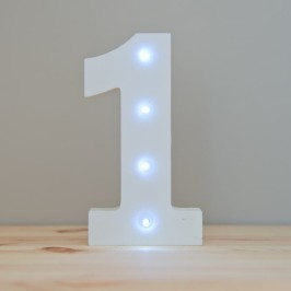 number 1 led light-800x800