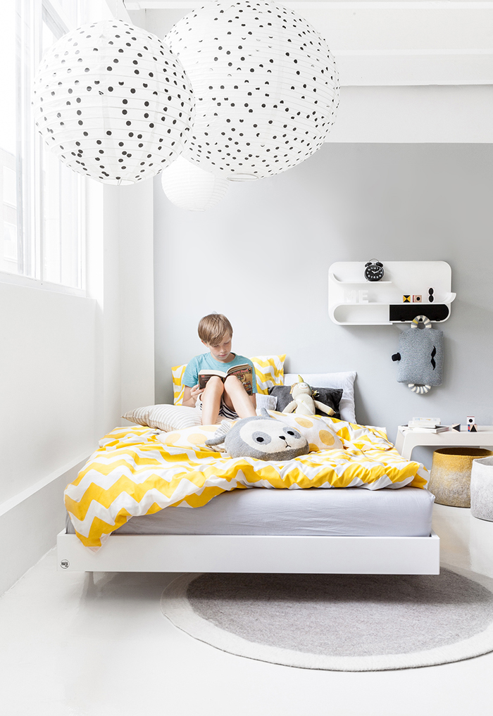 Rafa-kids A120 teen bed Yellow01F